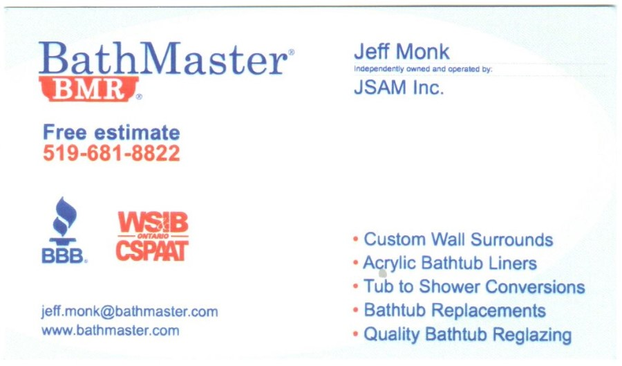 Bath Master - Jeff Monk
